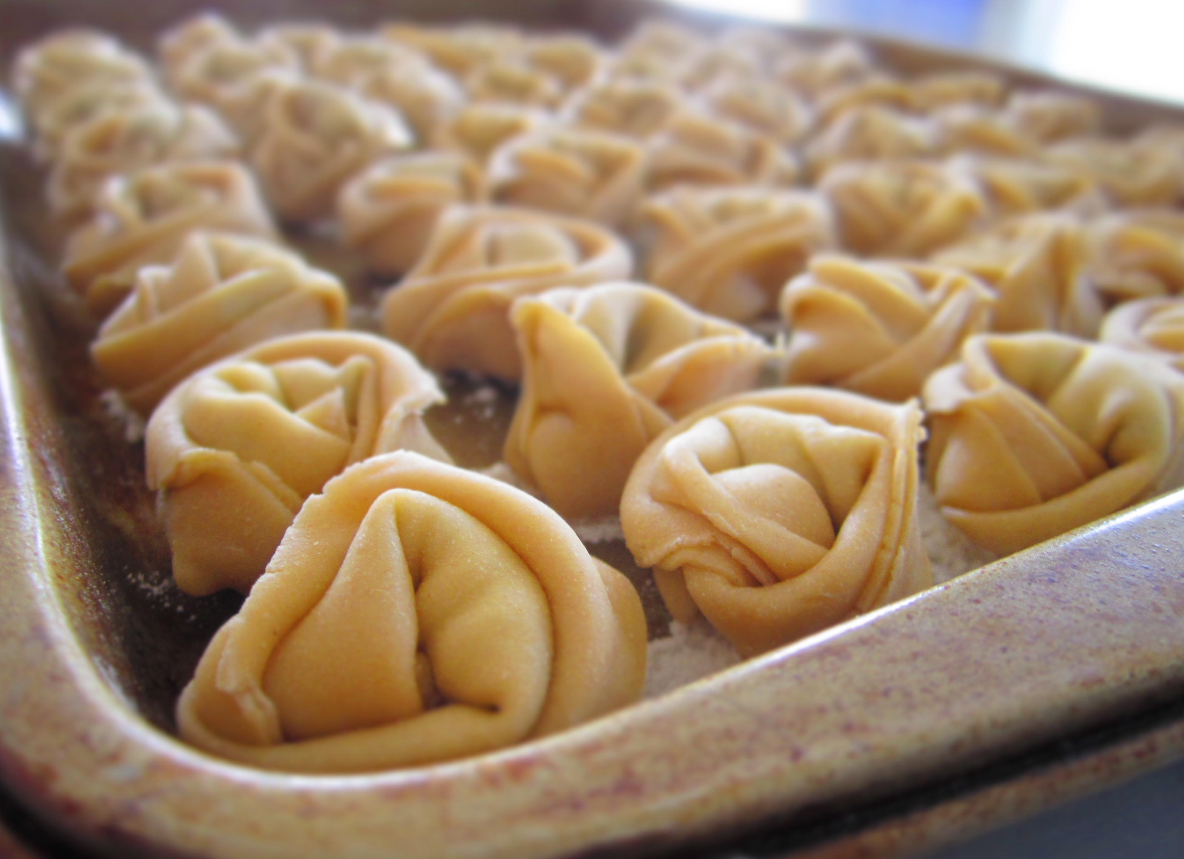 Homemade Cheese Tortellini | Lingonberry Jam
