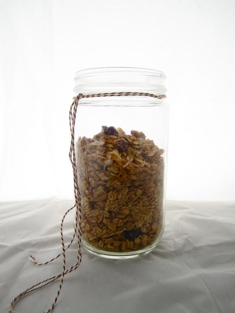 Cherry-Maple Granola | Lingonberry Jam