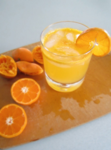 Clementine Gin Fizz | Lingonberry Jam