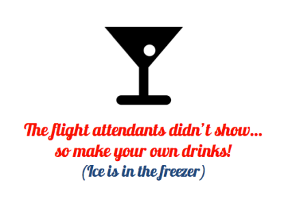 """A """"grown-up"""" airplane birthday party"""